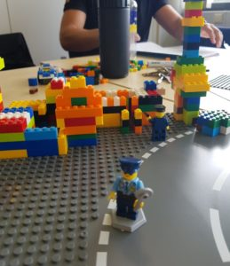 Lego Serious Play at the Requirement Workshops