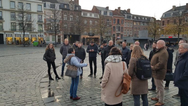 Consortium walking tour through Leuven