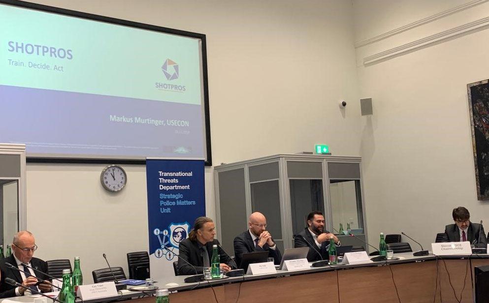 SHOTPROS represented at OSCE Meeting