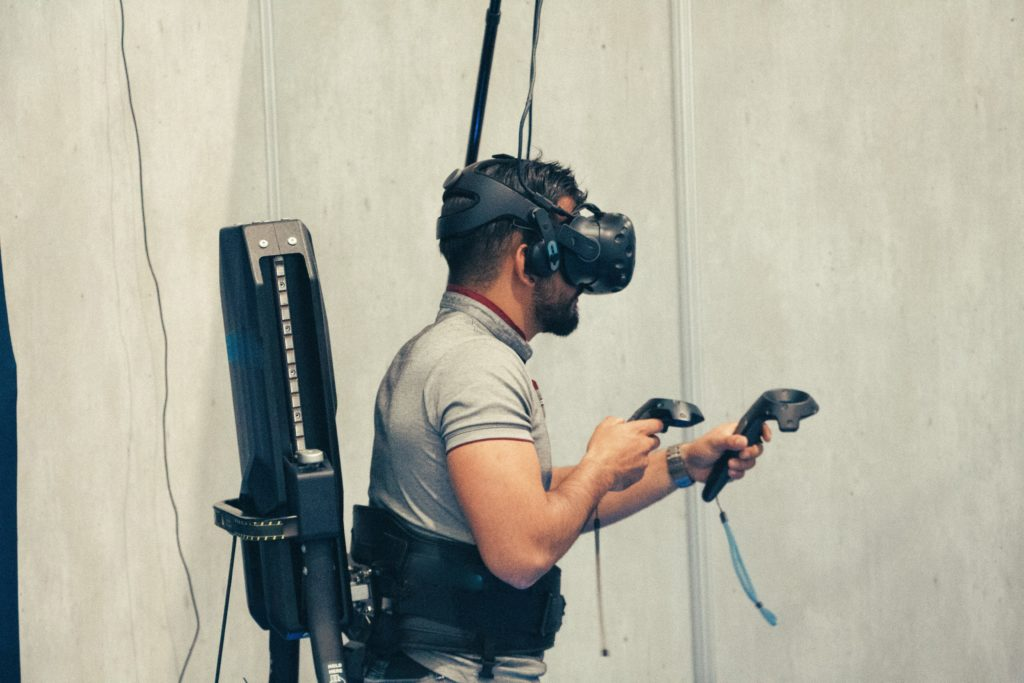 Virtual Reality Training Visual